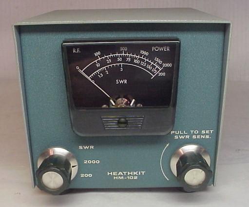 Antique Watt Meter : Vintage cb watt meters